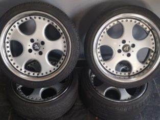 OPEL TIGRA 1.8 TYRE AND MAGS FOR SALE
