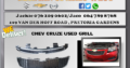CHEV CRUZE USED GRILL FOR SALE