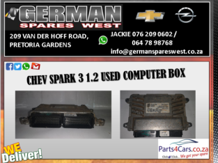 CHEV SPARK 3 1.2 USED COMPUTER BOX FOR SALE