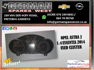 OPEL ASTRA J 1.4T ESSENTIA 2014 USED CLUSTER FOR S