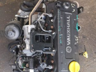 OPEL CORSA 1.7DTI USED ( Y17DT) ENGINE FOR SALE