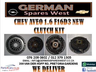 CHEV AVEO 1.6 F16D3 NEW CLUTCH KIT FOR SALE