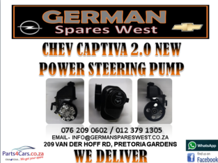 CHEV CAPTIVA 2.4 NEW POWER STEERING PUMP FOR SALE