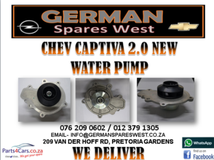 CHEV CAPTIVA 2.0 NEW WATER PUMP FOR SALE