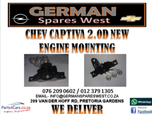CHEV CAPTIVA 2.0 NEW ENGINE MOUNTING FOR SALE