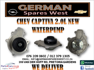 CHEV CAPTIVA 2.0L NEW WATERPUMP FOR SALE