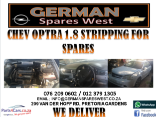 CHEV OPTRA 1.8LT STRIPPING FOR SPARES