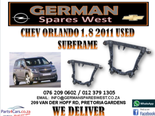 CHEV ORLANDO 1.8 2011 USED SUBFRAME FOR SALE