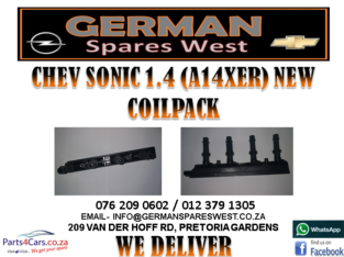 CHEV SONIC 1.4 (A14XER) NEW COILPACK FOR SALE