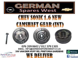 CHEV SONIC 1.6 NEW CAMSHAFT GEAR INT FOR SALE