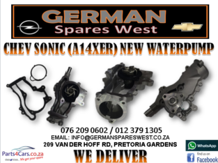 CHEV SONIC (A14XER) NEW WATERPUMP FOR SALE