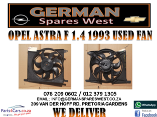 OPEL ASTRA F 1.4 1993 USED FAN FOR SALE