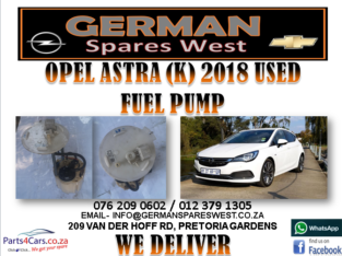 OPEL ASTRA (K) 2018 USED FUEL PUMP FOR SALE