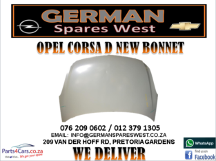 OPEL CORSA D NEW BONNET FOR SALE