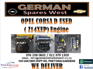 OPEL CORSA D (Z14XEP) ENGINE FOR SALE