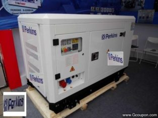 PERKINS 10KVA SILENT SINGLE PHASE ATS DIESEL GEN
