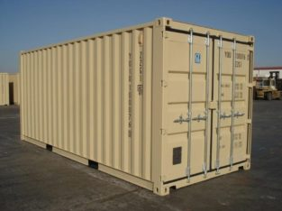 6-METER (20 FOOT) STORAGE CONTAINERS
