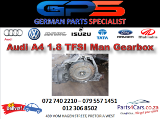 Audi A4 1.8 TFSI Man Gearbox for Sale