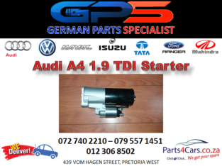 New Audi A4 1.9 TDI Starter for Sale