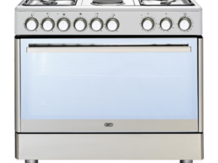 Defy 90cm Stainless Steel Gas/Electric Stove