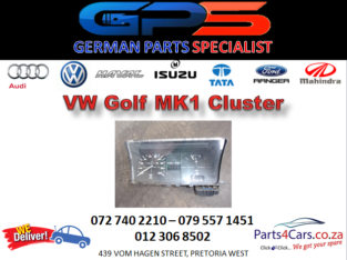 Golf MK1 Cluster for Sale