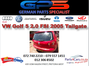 VW Golf 5 2.0 FSI 2005 Tailgate for Sale