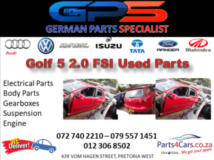 Golf 5 2.0 FSI Used Parts for Sale