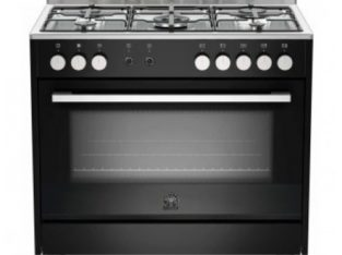 La Germania Europa 90cm Gas Hob/Electric Oven – Bl