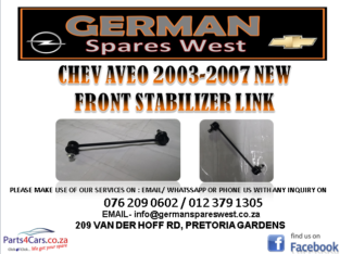 CHEV AVEO 2003 NEW FRONT STABILIZER LINK FOR SALE