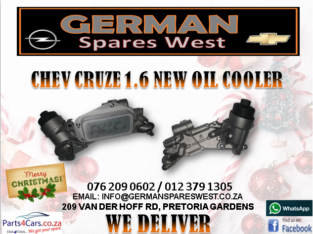 CHEV CRUZE 1.6 NEW OIL COOLER FOR SALE