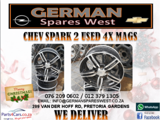 CHEV SPARK 2 USED MAGS FOR SALE Jackie -076 209