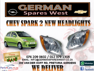 CHEV SPARK 2 NEW HEADLIGHTS FOR SALE