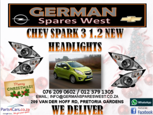CHEV SPARK 3 1.2 NEW HEADLIGHTS FOR SALE
