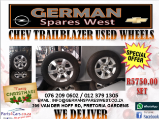 CHEV TRAILBLAZER USED WHEELS FOR SALE