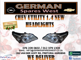 CHEV UTILITY 1.4 NEW HEADLIGHT FOR SALE