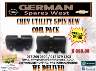 CHEV UTILITY NEW 5 PIN COILPACK FOR SALE