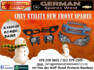 CHEV UTILITY NEW FRONT SPARES FOR SALE