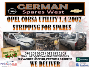 OPEL CORSA UTILITY 1.4 2007 STRIPPING FOR SPARES