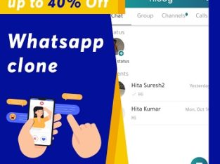 40% sale for ready-to-use Whatsapp clone script