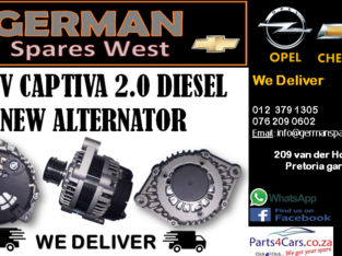 CHEV CAPTIVA 2.0 D NEW ALTERNATOR FOR SALE