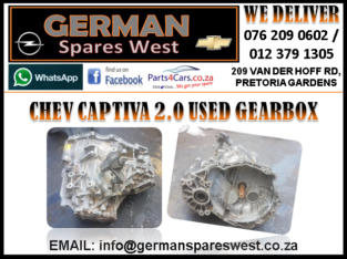 CHEV CAPTIVA 2.0 USED GEARBOX FOR SALE