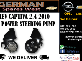 CHEV CAPTIVA 2.4 POWER STEERING PUMP FOR SALE