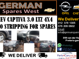 CHEV CAPTIVA 3.0 LTZ 4X4 2010 STRIPPING FOR SPARES