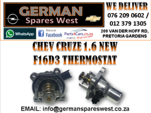 CHEV CRUZE 1.6 NEW F16D3 THERMOSTAT FOR SALE