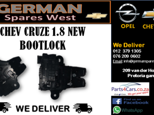 CHEV CRUZE 1.8 NEW BOOTLOCK FOR SALE