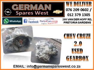 CHEV CRUZE 2.0 USED GEARBOX FOR SALE