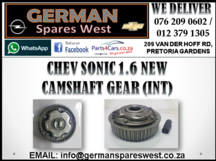 CHEV SONIC 1.6 NEW CAMSHAFT GEAR ( INT ) FOR SALE
