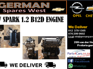 CHEV SPARK 3 1.2 B12D ENGINE FOR SALE
