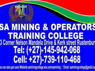 operator training courses in Kuruman 0739110468 /