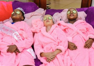 Pamper parties for kids